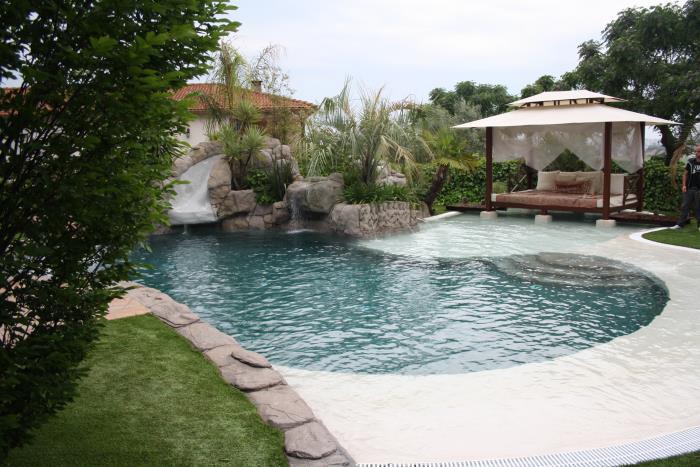 Contrucción piscina